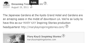 Dreaming Tree Films | Mary Kay Inspiring Stories Partnership Marketing/Social Media