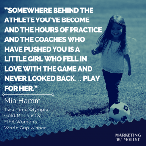 Mia Hamm - Play for Her