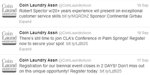 Coin Laundry Association | Social Media Plan