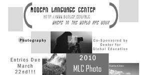 Butler University's Modern Language Center Photo Contest